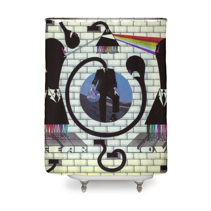 Pinky and the Floyd Brain Damage Home Shower Curtain by simpleheady's Shop