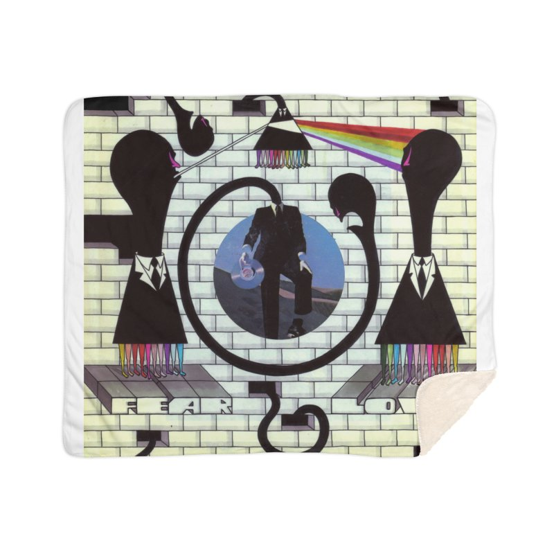 Pinky and the Floyd Brain Damage Home Sherpa Blanket Blanket by simpleheady's Shop