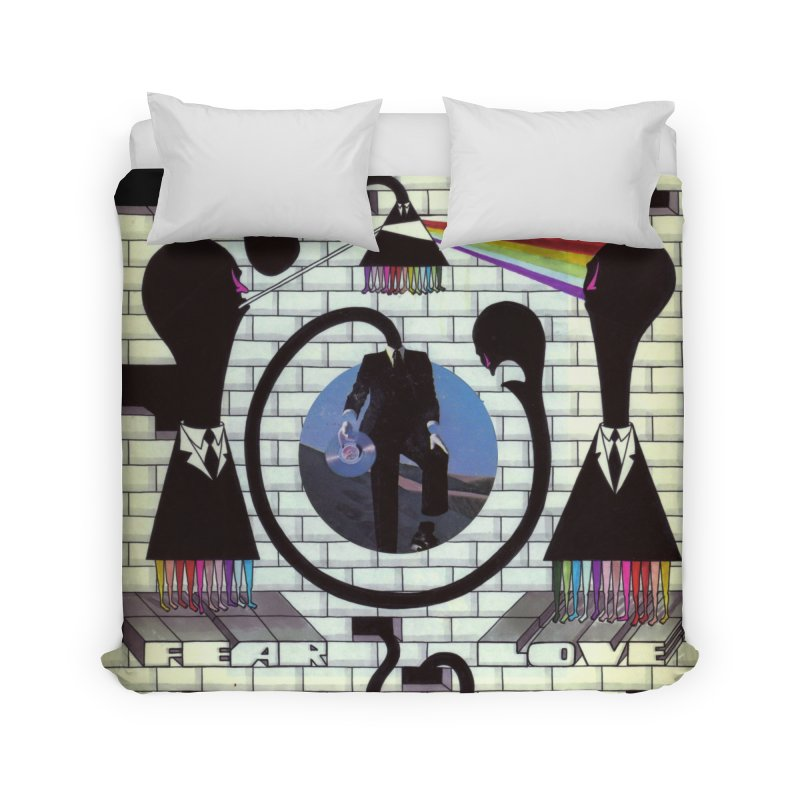 Pinky and the Floyd Brain Damage Home Duvet by simpleheady's Shop
