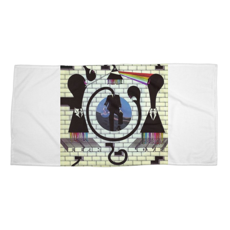 Pinky and the Floyd Brain Damage Accessories Beach Towel by simpleheady's Shop