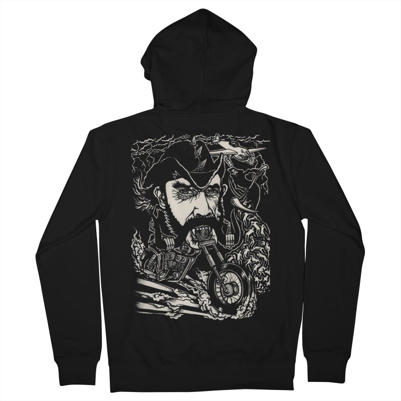 Lemmy Women's French Terry Zip-Up Hoody by simpleheady's Shop