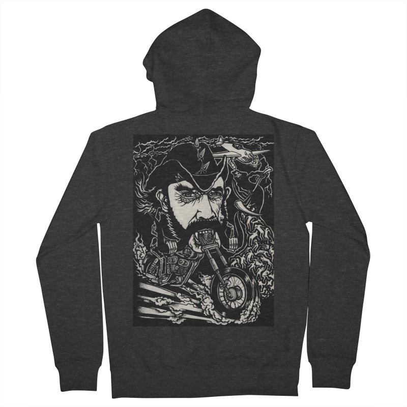 Lemmy Men's French Terry Zip-Up Hoody by simpleheady's Shop