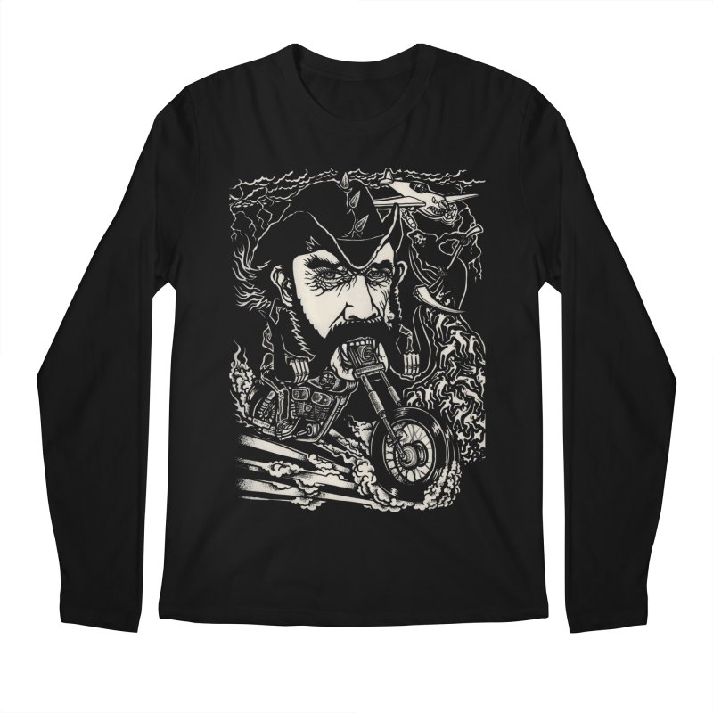 Lemmy Men's Regular Longsleeve T-Shirt by simpleheady's Shop