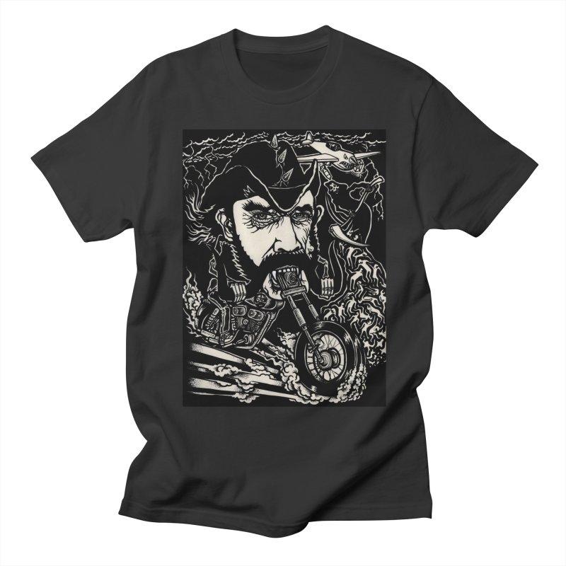 Lemmy Men's Regular T-Shirt by simpleheady's Shop