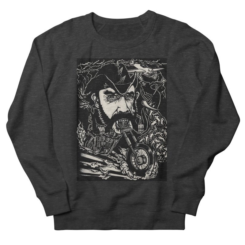 Lemmy Men's French Terry Sweatshirt by simpleheady's Shop