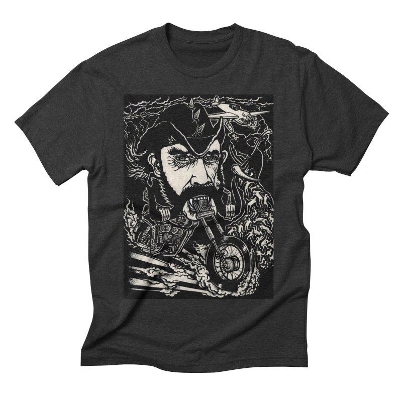 Lemmy Men's Triblend T-Shirt by simpleheady's Shop