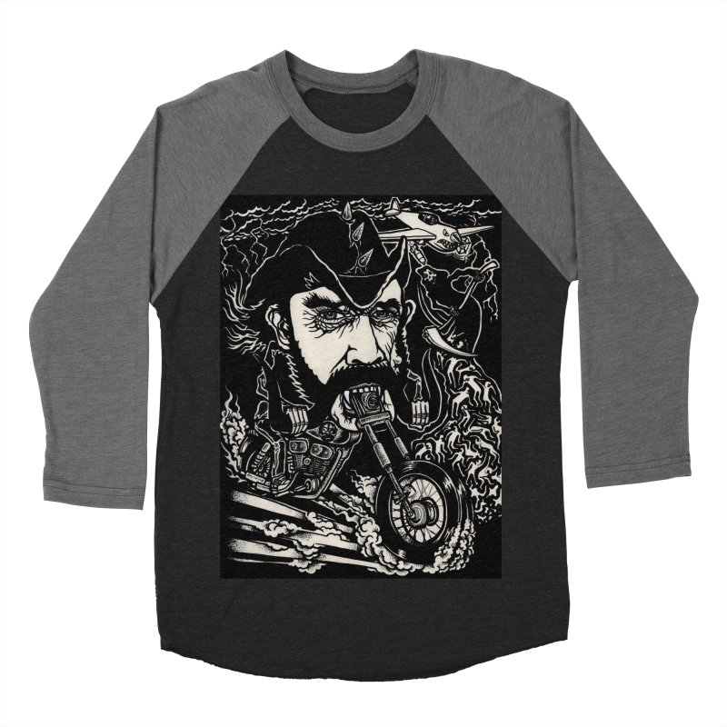 Lemmy Women's Baseball Triblend Longsleeve T-Shirt by simpleheady's Shop