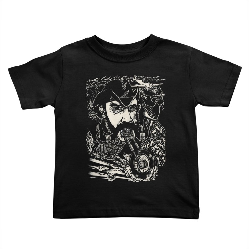 Lemmy Kids Toddler T-Shirt by simpleheady's Shop