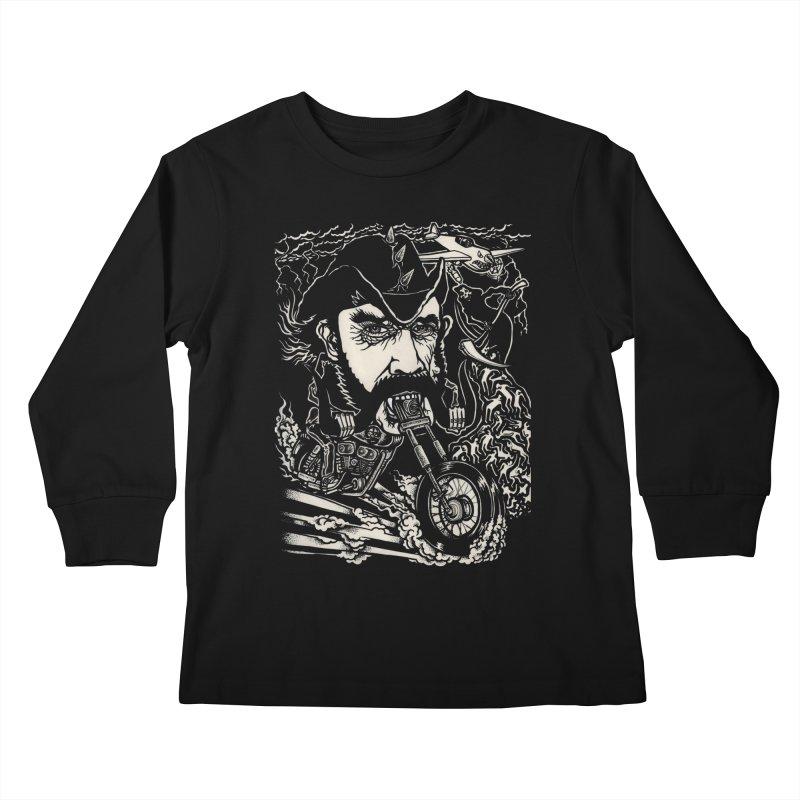 Lemmy Kids Longsleeve T-Shirt by simpleheady's Shop