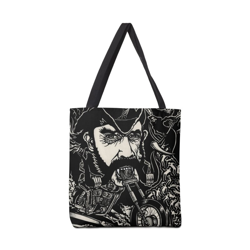 Lemmy Accessories Tote Bag Bag by simpleheady's Shop