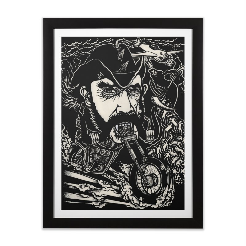 Lemmy Home Framed Fine Art Print by simpleheady's Shop