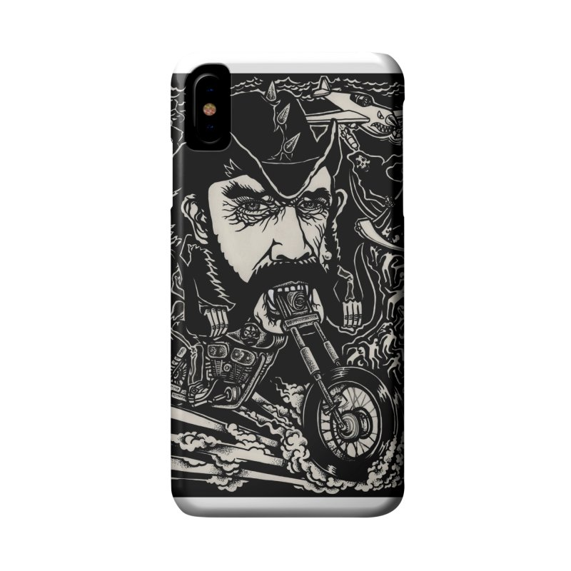 Lemmy Accessories Phone Case by simpleheady's Shop