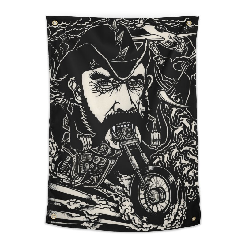 Lemmy Home Tapestry by simpleheady's Shop