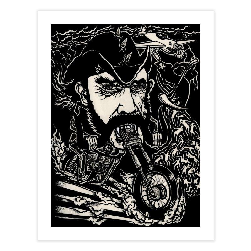 Lemmy Home Fine Art Print by simpleheady's Shop