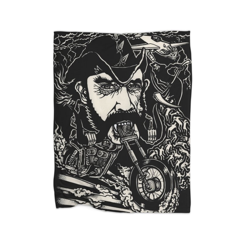 Lemmy Home Fleece Blanket Blanket by simpleheady's Shop