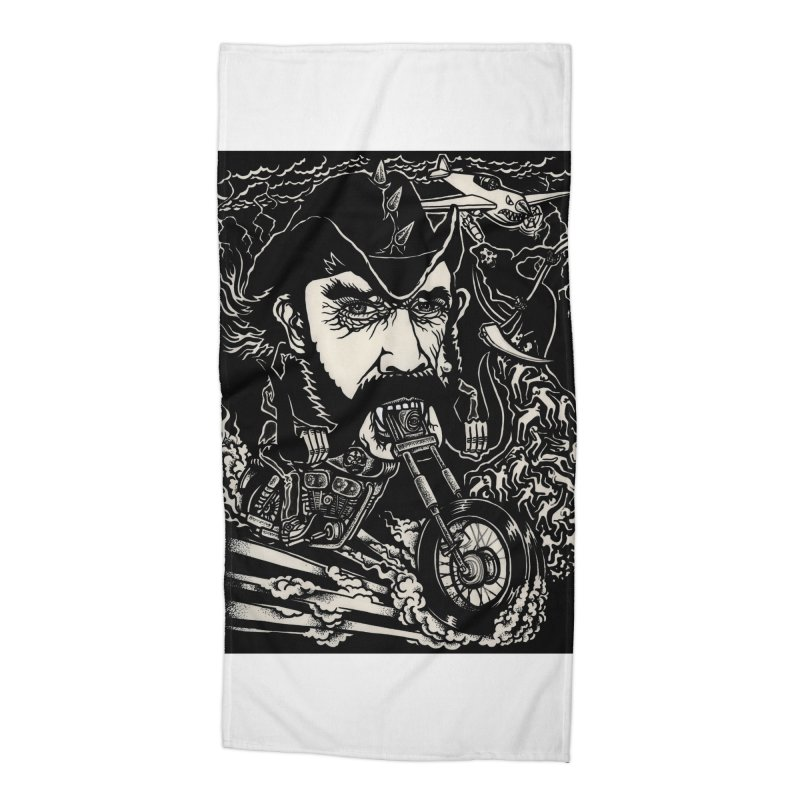 Lemmy Accessories Beach Towel by simpleheady's Shop