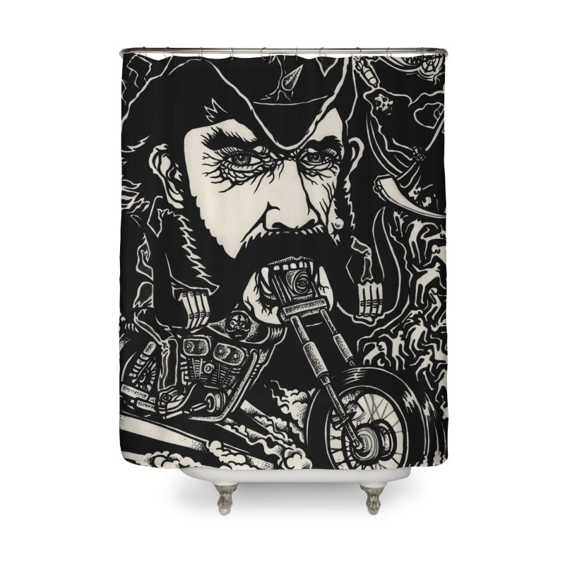Lemmy Home Shower Curtain by simpleheady's Shop