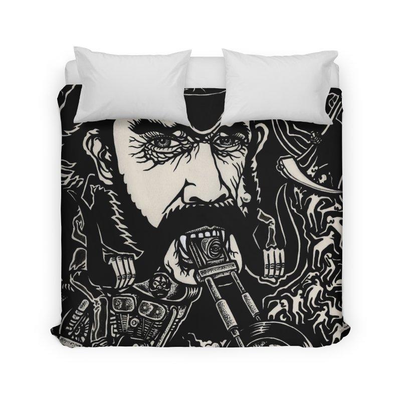 Lemmy Home Duvet by simpleheady's Shop