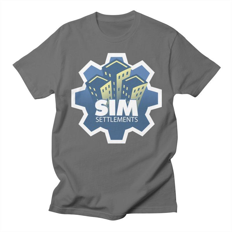 Sim Settlements Logo Men's T-Shirt by Sim Settlements Shop
