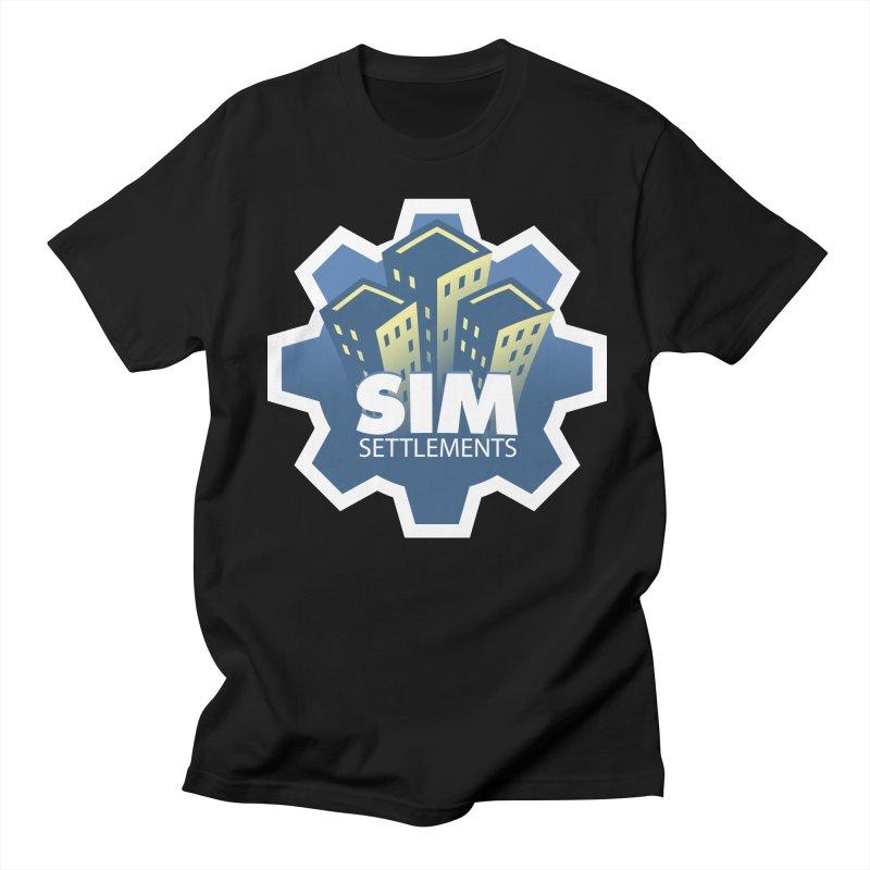 Sim Settlements Logo Men's Regular T-Shirt by Sim Settlements Shop