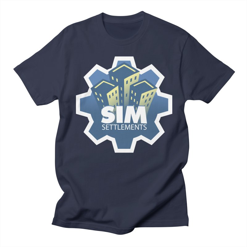 Sim Settlements Logo Men's T-Shirt by Sim Settlements Shop