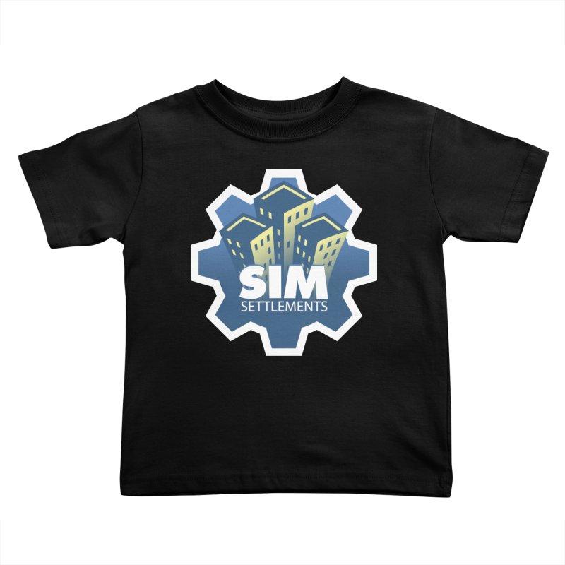 Sim Settlements Logo Kids Toddler T-Shirt by Sim Settlements Shop