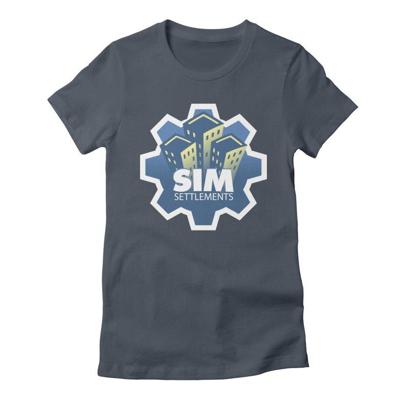 Sim Settlements Logo Women's T-Shirt by Sim Settlements Shop