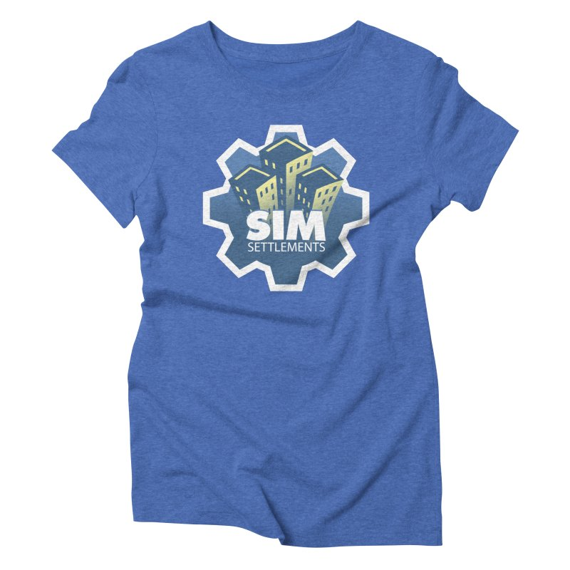 Sim Settlements Logo Women's Triblend T-Shirt by Sim Settlements Shop