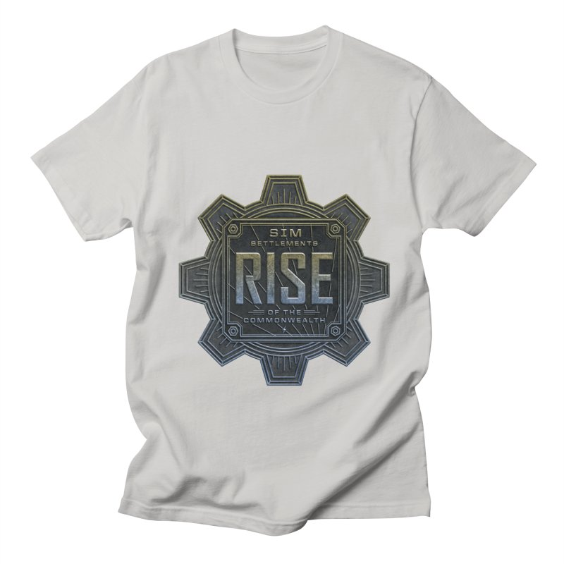 Rise of the Commonwealth Logo Men's T-Shirt by Sim Settlements Shop