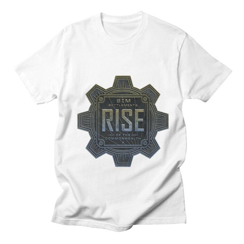Rise of the Commonwealth Logo Women's Regular Unisex T-Shirt by Sim Settlements Shop