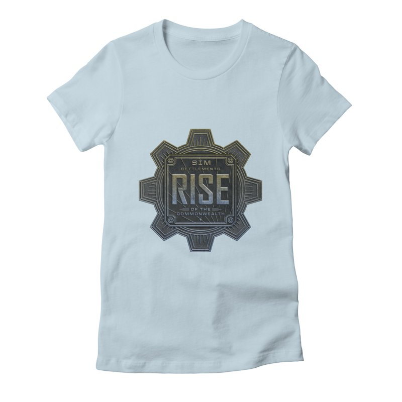 Rise of the Commonwealth Logo Women's T-Shirt by Sim Settlements Shop