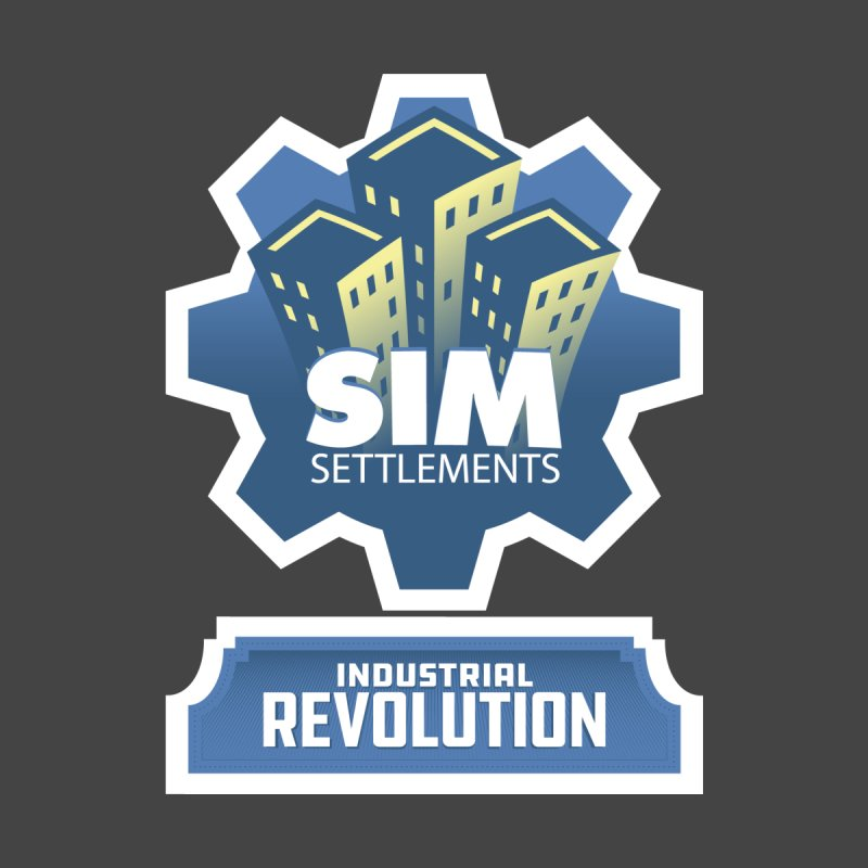 Industrial Revolution Shirts Men's T-Shirt by Sim Settlements Shop