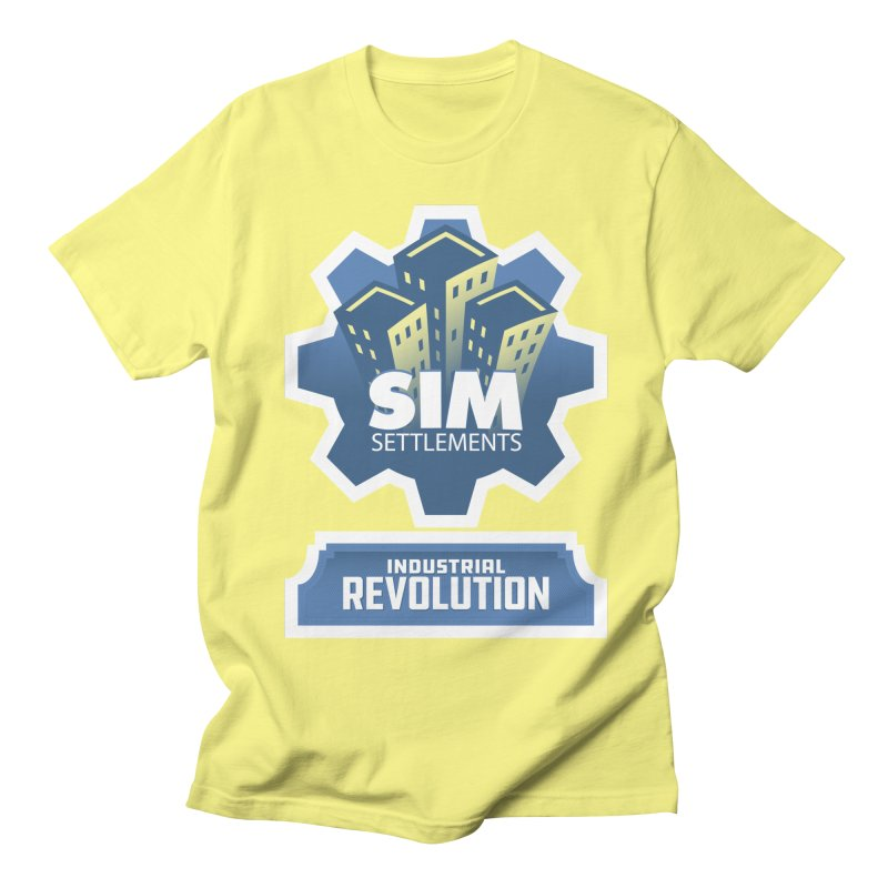 Industrial Revolution Logo Women's Regular Unisex T-Shirt by Sim Settlements Shop