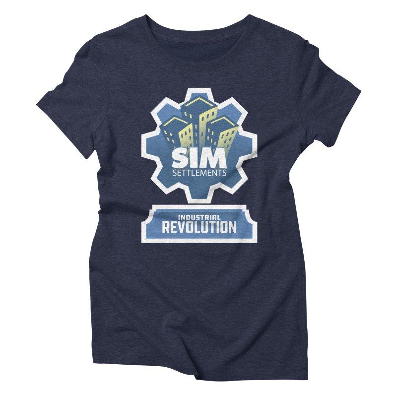 Industrial Revolution Logo Women's T-Shirt by Sim Settlements Shop