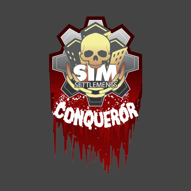 Conqueror Shirts Men's T-Shirt by Sim Settlements Shop