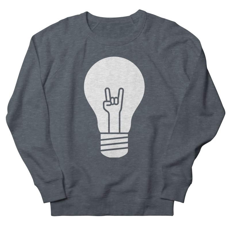 Idea Rocks Men's Sweatshirt by siniz's Artist Shop
