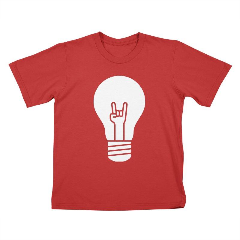 Idea Rocks Kids T-Shirt by siniz's Artist Shop