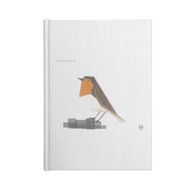 Robin Accessories Notebook by Sin Remite Artist Shop