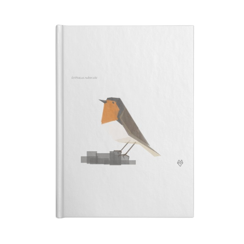Robin Accessories Lined Journal Notebook by Sin Remite Artist Shop