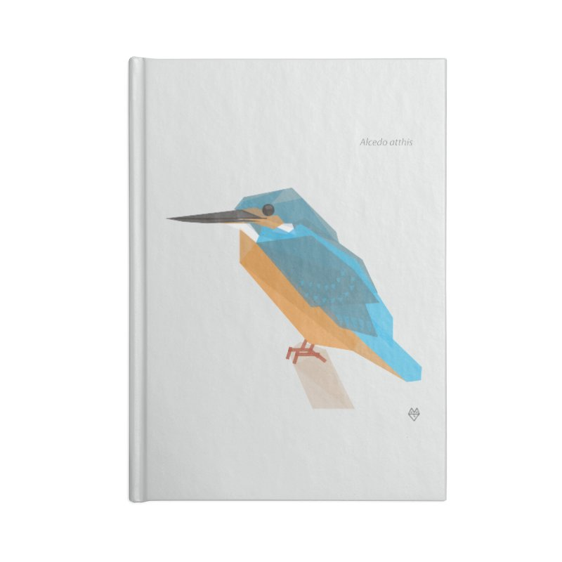 Kingfisher Accessories Notebook by Sin Remite Artist Shop