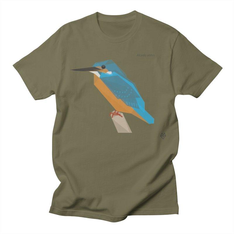 Kingfisher Men's Regular T-Shirt by Sin Remite Artist Shop