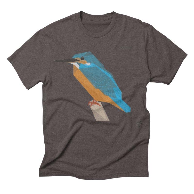 Kingfisher Men's Triblend T-shirt by Sin Remite Artist Shop