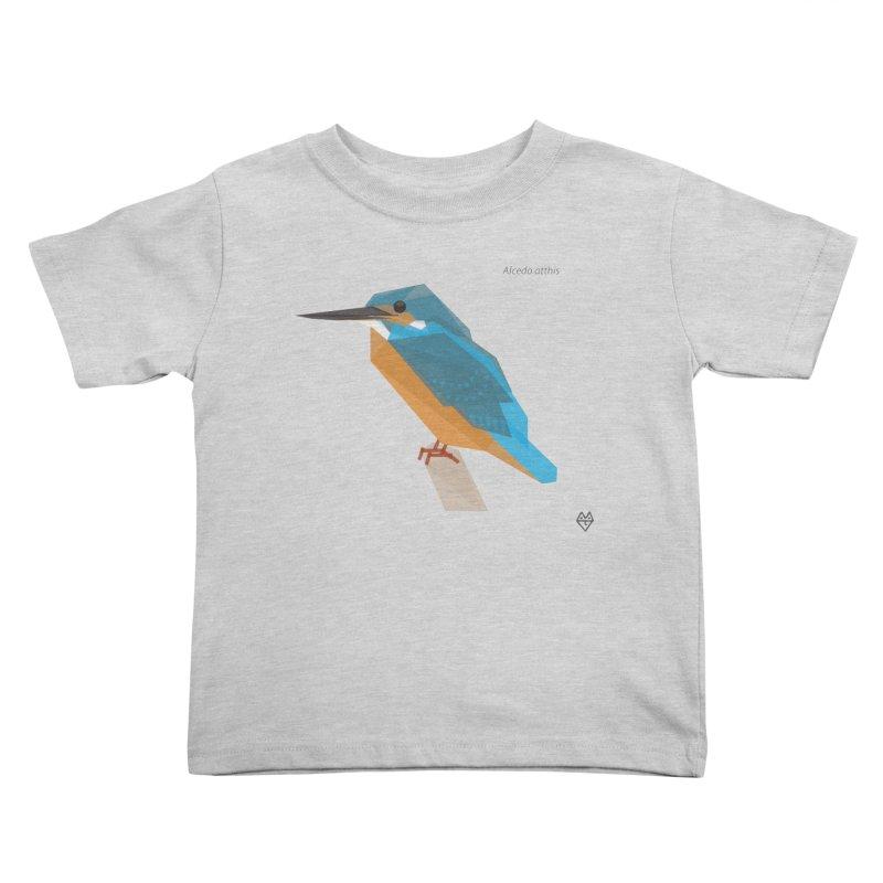 Kingfisher Kids Toddler T-Shirt by Sin Remite Artist Shop