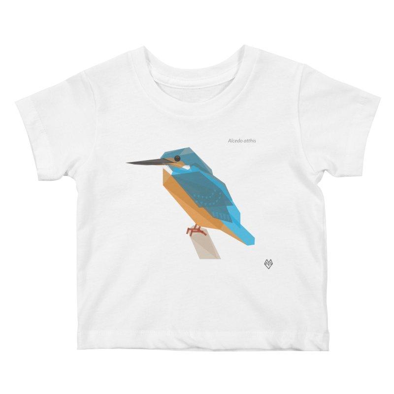Kingfisher Kids Baby T-Shirt by Sin Remite Artist Shop