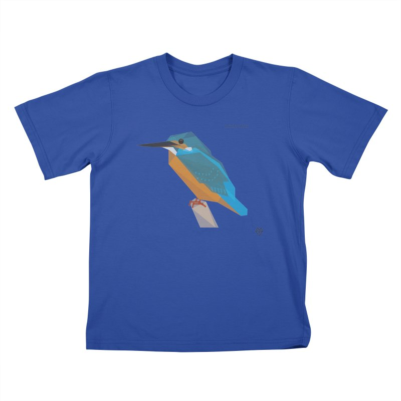 Kingfisher Kids T-Shirt by Sin Remite Artist Shop