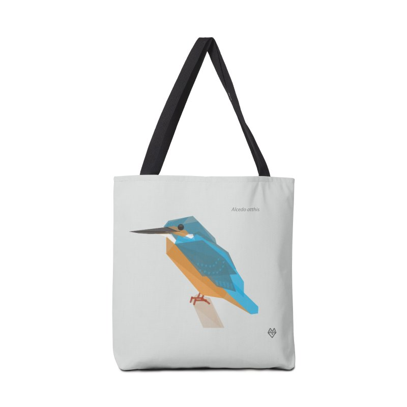 Kingfisher Accessories Tote Bag Bag by Sin Remite Artist Shop