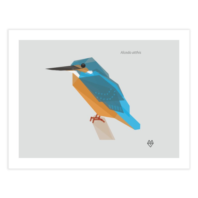 Kingfisher Home Fine Art Print by Sin Remite Artist Shop