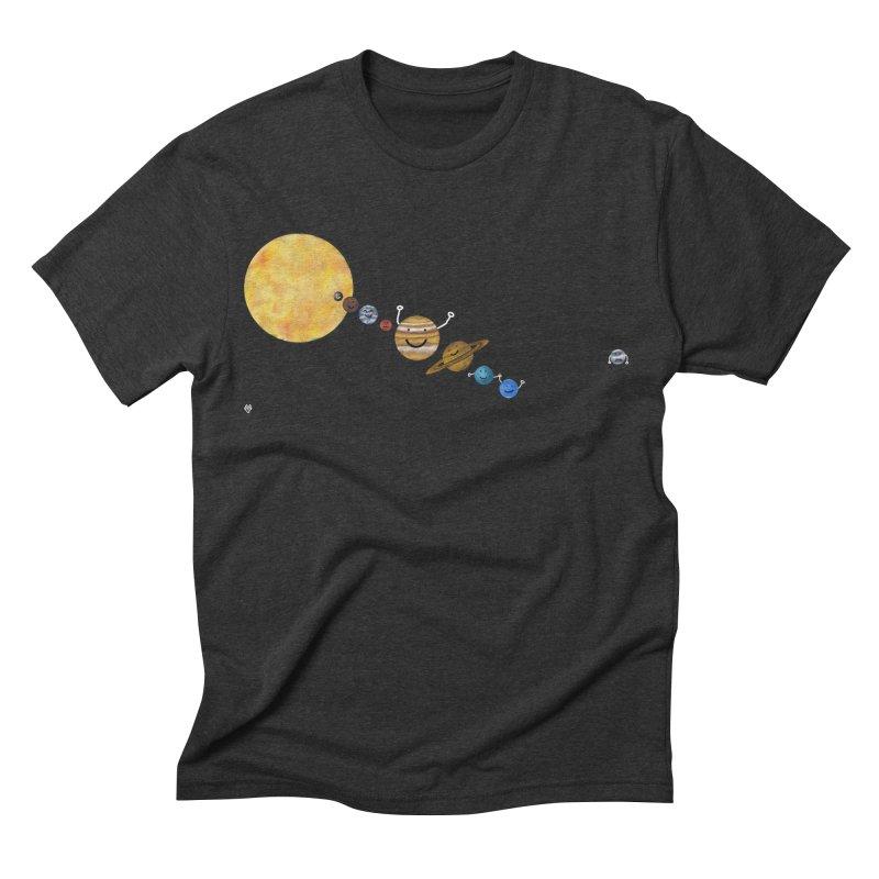 Pluto Men's Triblend T-shirt by Sin Remite Artist Shop