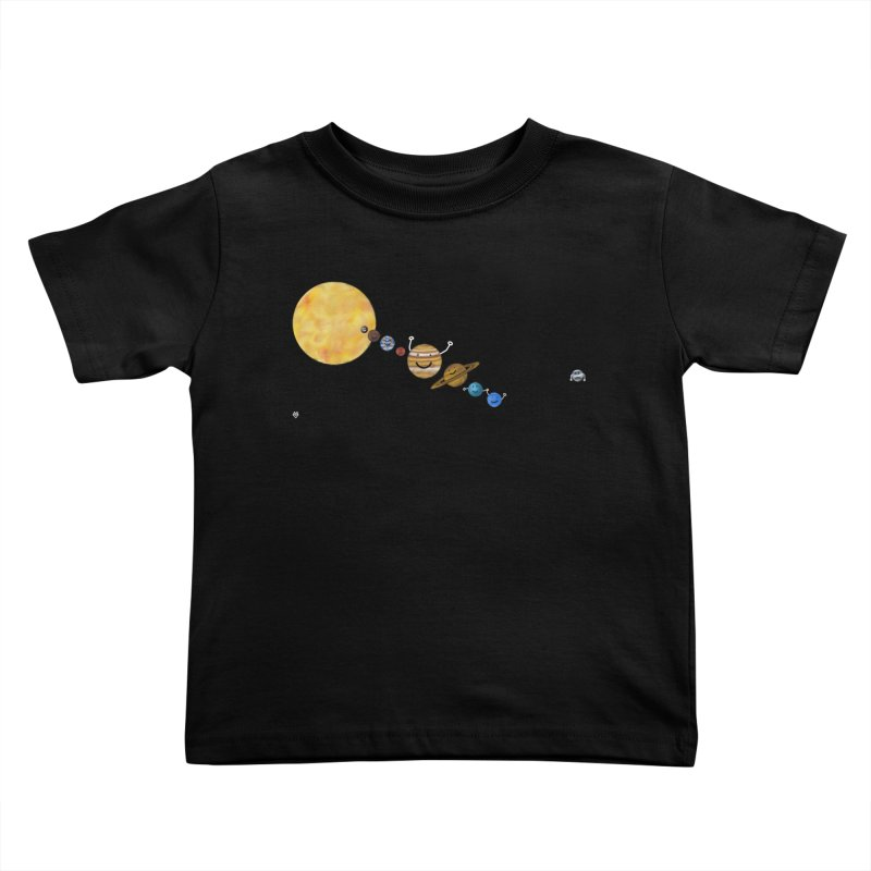 Pluto Kids Toddler T-Shirt by Sin Remite Artist Shop