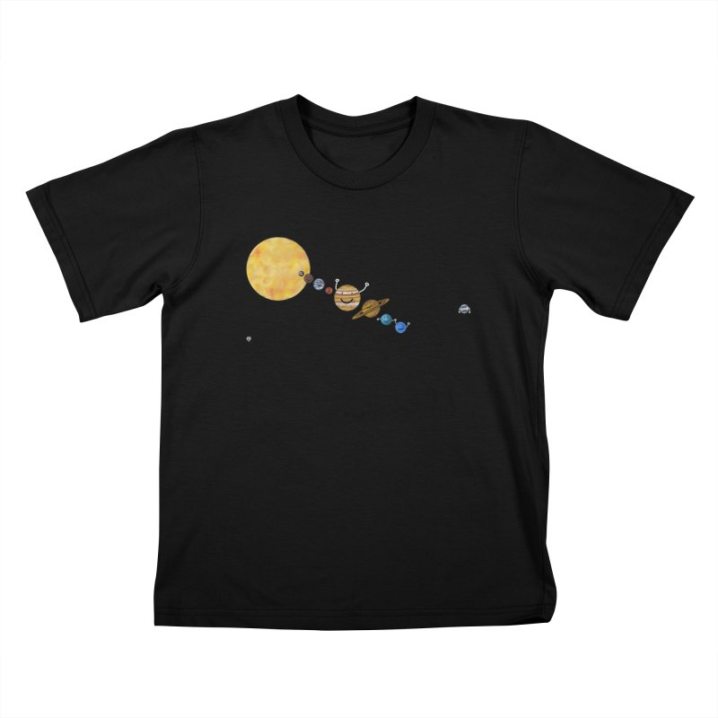 Pluto Kids T-Shirt by Sin Remite Artist Shop